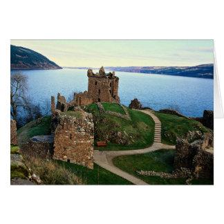 Cartes Château d'Urquhart, Loch Ness, Ecosse