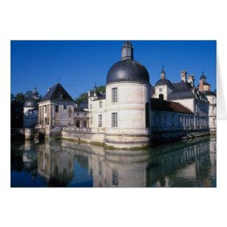 Cartes Château Tanlay, Tanlay, Bourgogne, France