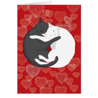 Cartes Chats dans l'amour : Paulie et Angie….