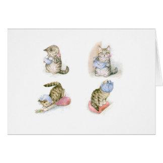 Cartes Chats et souris de Beatrix Potter