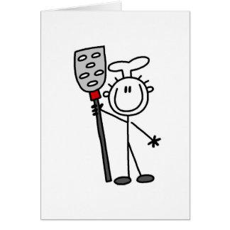Cartes Chef avec des T-shirts et des cadeaux de spatule