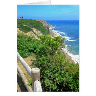 Cartes Chemin de falaise de crique de maïs