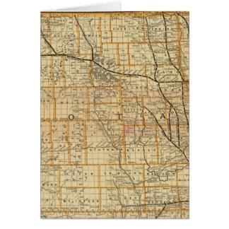 Cartes Chemin de fer 2 de St Paul, de Minneapolis et de