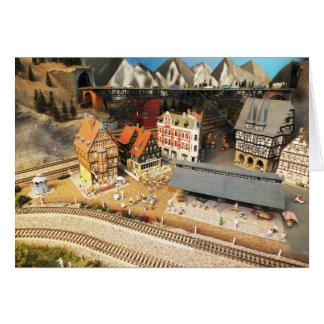 Cartes Chemin de fer et pont modèles