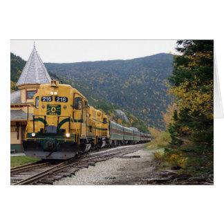 Cartes Chemin de fer pittoresque de Conway, NH