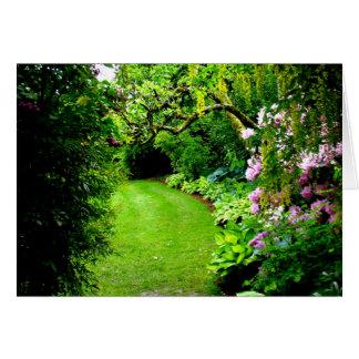 Cartes Chemin de jardin