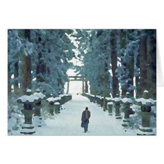 Cartes Chemin de neige