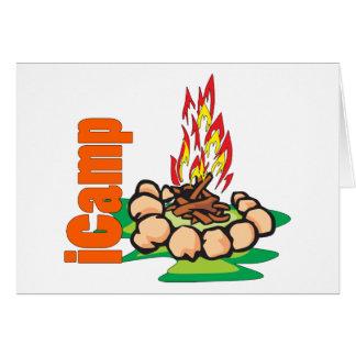 Cartes chemise de camping d'iCamp