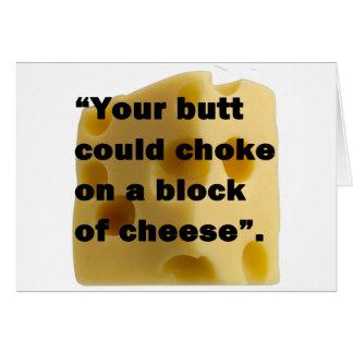 Cartes Chemise de fromage de Jeffrey LaRocque