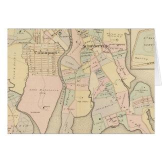 Cartes Chester occidental, Schuylerville, New York