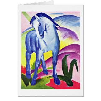 Cartes Cheval bleu I par Franz Marc