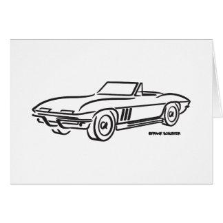 Cartes Chevrolet Corvette 1966