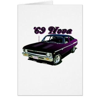 Cartes Chevy :  Nova