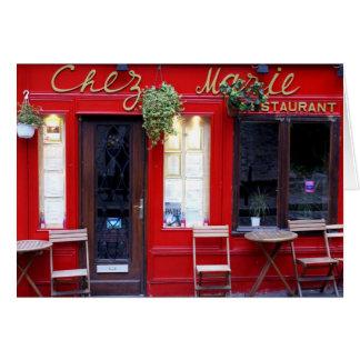 Cartes Chez Marie
