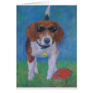 Cartes Chien Sparky de cool de chien