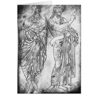 Cartes Chiffres de deux apôtres ou prophètes