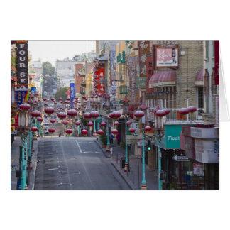 Cartes Chinatown sur la rue de Grant à San Francisco,