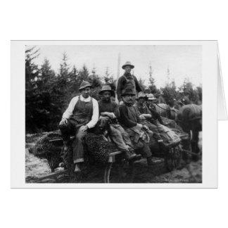 Cartes Chinook, WALogging CrewChinook, WA
