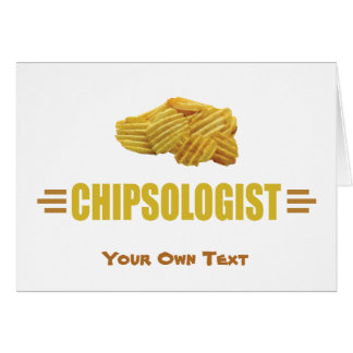 Cartes CHIPSOLOGIST - Pommes chips humoristiques