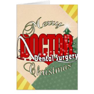 Cartes Chirurgie dentaire de NOËL