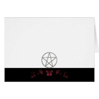 Cartes Choisissez votre blanc de tissu de rose et de