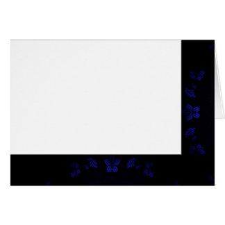Cartes Choisissez votre blanc noir et bleu de couleur de