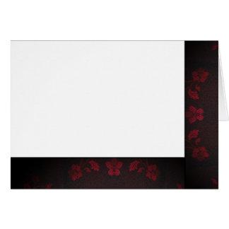 Cartes Choisissez votre blanc noir et rouge de couleur de