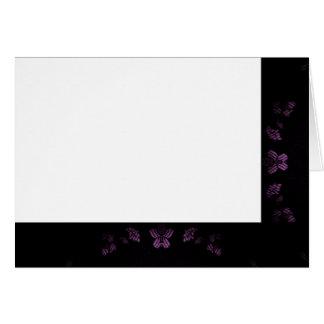 Cartes Choisissez votre noir de couleur et blanc de tissu
