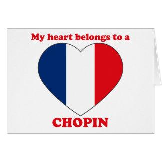 Cartes Chopin