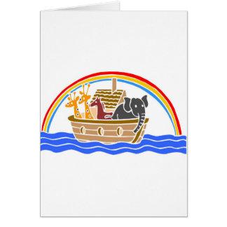 Cartes Chrétien artwork_4 de l'arche de Noé