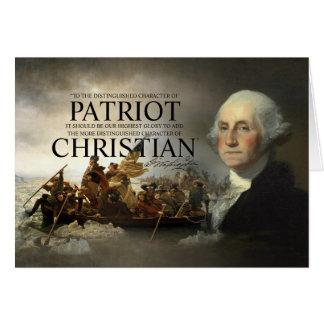 Cartes Chrétien de George Washington