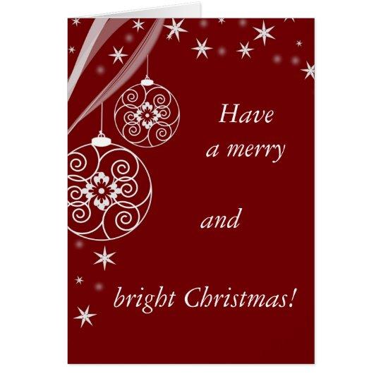 Cartes Christmas Card
