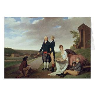 Cartes Christophe-Philippe Oberkampf et famille