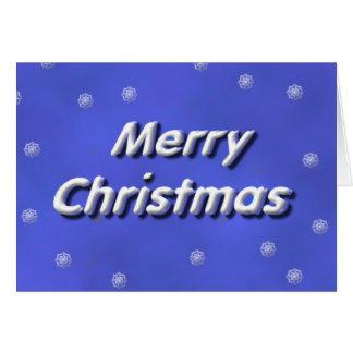 Cartes Chute de neige de Joyeux Noël