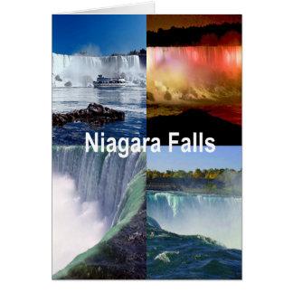 Cartes Chutes du Niagara New York