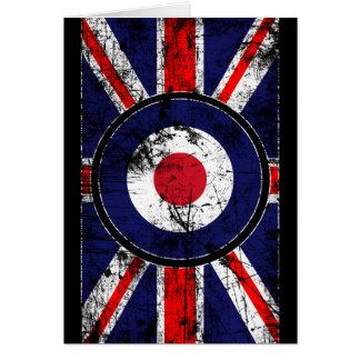 Cartes Cible BRITANNIQUE Union Jack de Mods de cible de