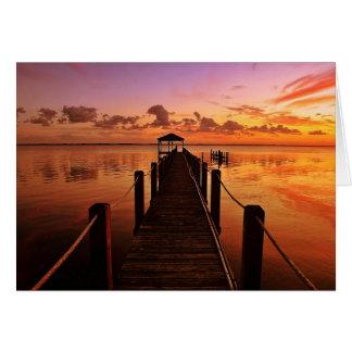 Cartes Ciel de coucher du soleil