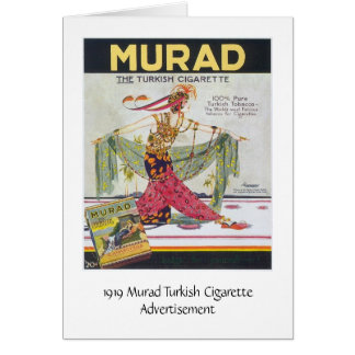 Cartes Cigarettes de turc de Murad