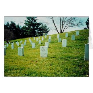 Cartes Cimetière national d'Arlington commémoratif