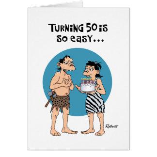 Cartes Cinquantième anniversaire drôle
