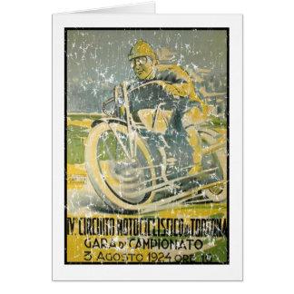 Cartes Circuito Motociclistico-1924 - affligé