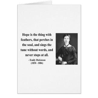 Cartes Citation 1B d'Emily Dickinson