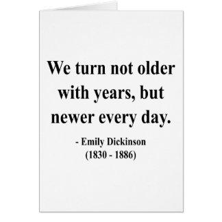 Cartes Citation 4a d'Emily Dickinson