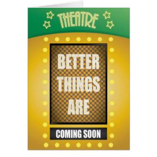 Cartes Citation : De meilleures choses viendront bientôt