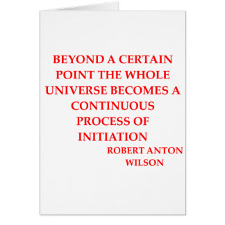 Cartes citation de Robert anton Wilson