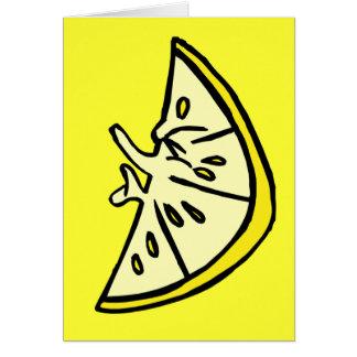 Cartes Citron de ride