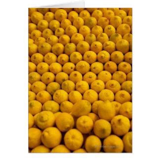 Cartes Citrons