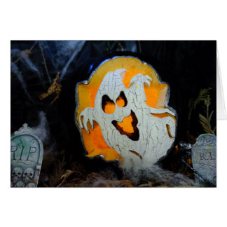 Cartes Citrouille décoré de Halloween