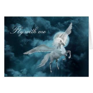 Cartes Clair de lune Pegasus