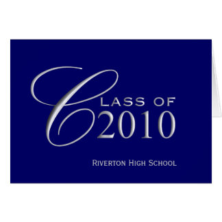 Cartes Classe d'obtention du diplôme de 2010 - l'école